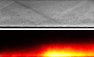 High-Speed Visualization of Unsteady Processes in a Scramjet Combustion Chamber Using CAVILUX Smart Diode Laser