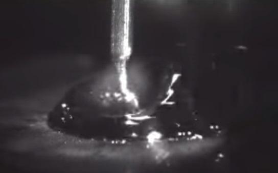 MIG welding drop forming