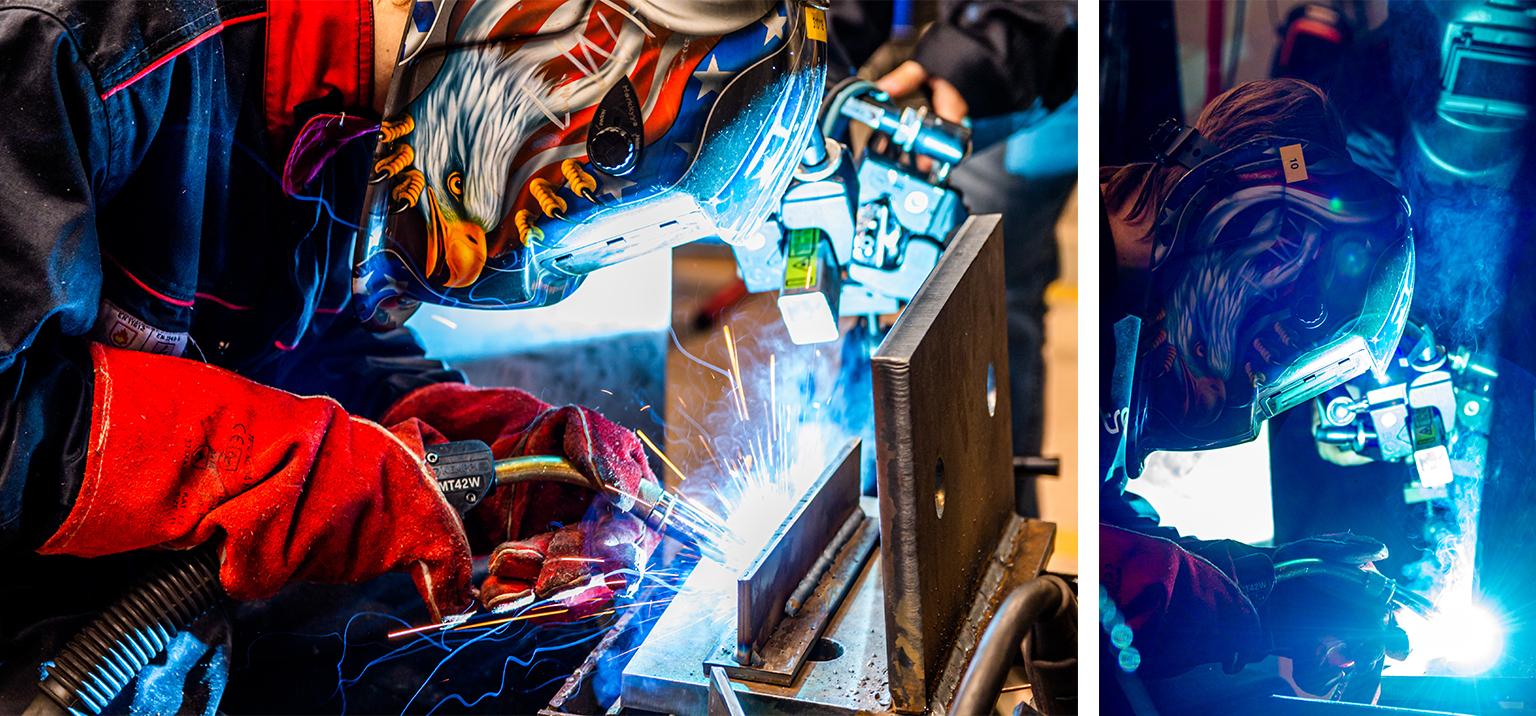 Welder and welding camera